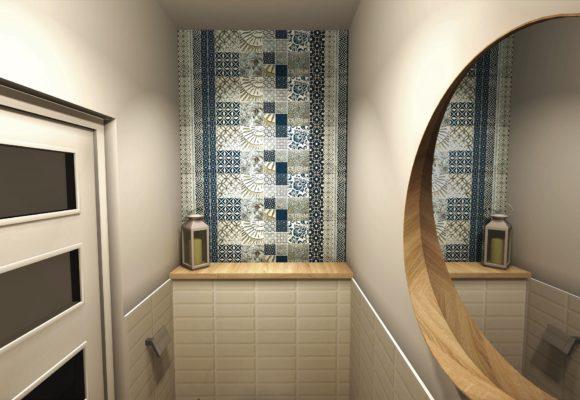 Toaleta w stylu skandynawskim